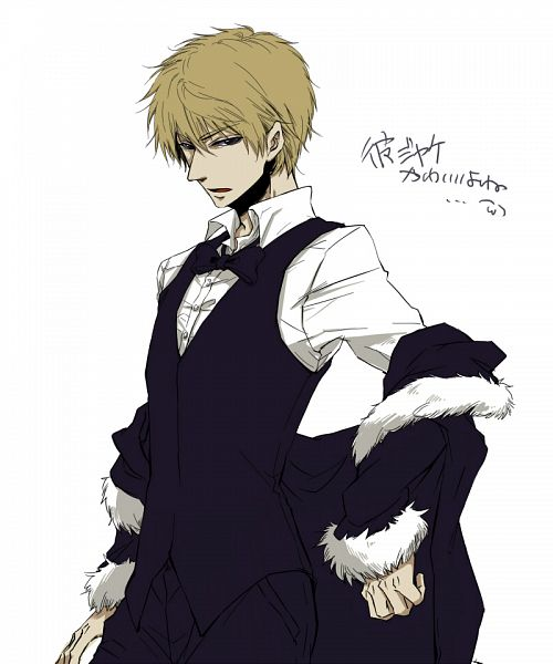 Shizuo as Izaya - Durarara!! Fan Art (31570492) - Fanpop