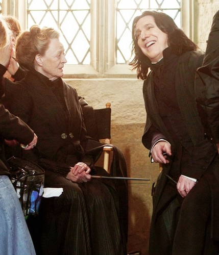 Smiling Snape