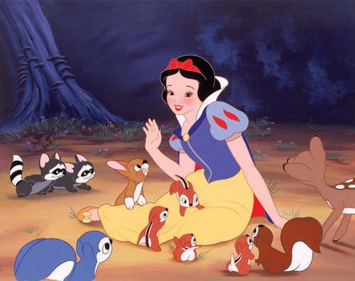 Snow White and the जानवर