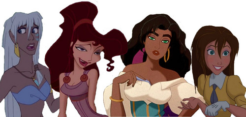 disney crossover achtergrond called Some of the Heroine's