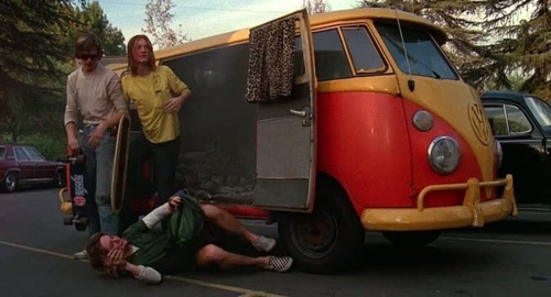 Spicoli and his stoner buds