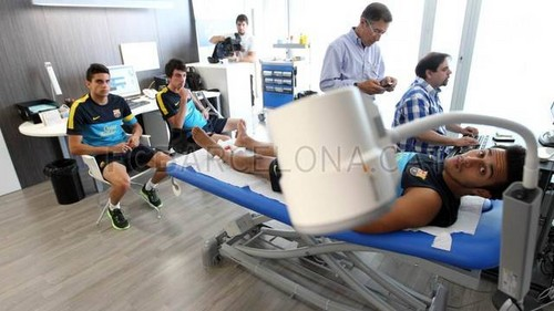 FC Barcelona wallpaper titled Start of the new season: Medical Tests