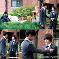 Still cuts of Minho & Sulli's first meeting