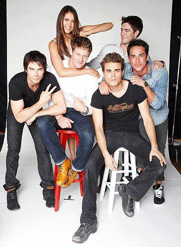 The Vampire Diaries images TVD cast at Comic Con 2012 wallpaper and background photos