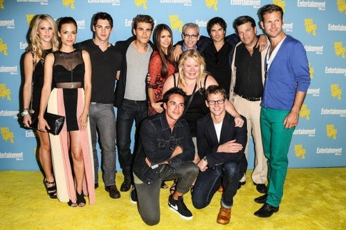 TVD cast at Comic Con 2012
