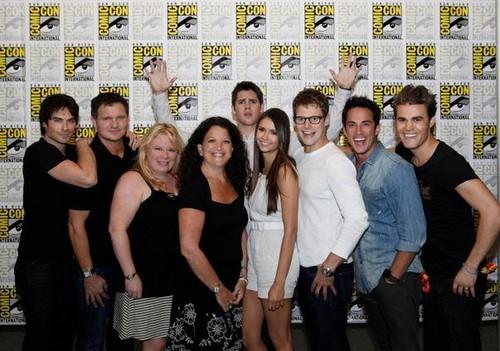 TVD cast at Comic Con 2012