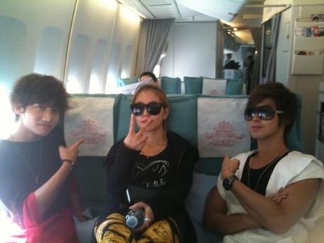 TVXQ with BoA