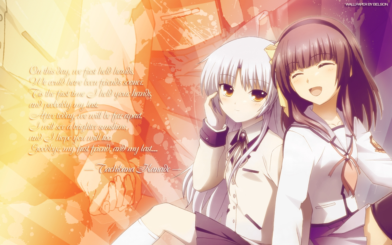 Tachibana Kanade & Nakamura Yuri - AnNiEwAnNiE Wallpaper (31500268