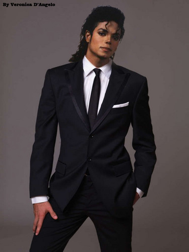 Michael Jackson Hintergrund with a business suit, a suit, and a double breasted suit entitled Tall, Dark and Handsome