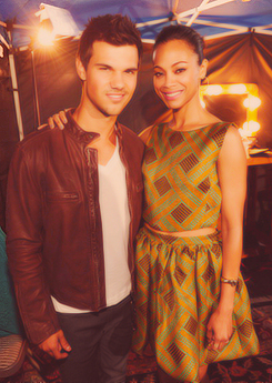 Taylor Lautner at TCA 2012