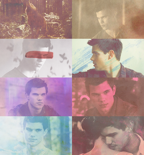 Taylor as Jacob Black in Breaking dawn part 1