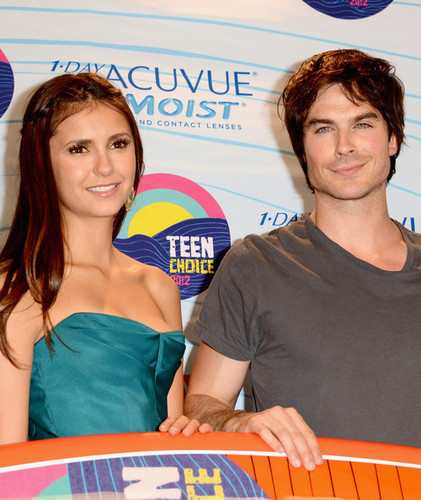Nina Dobrev wallpaper titled Teen Choice Awards 2012
