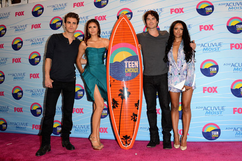 Paul Wesley wallpaper entitled Teen Choice Awards 2012