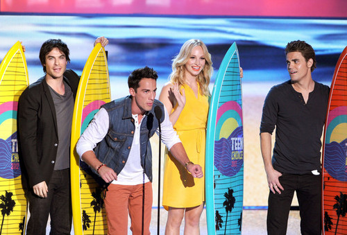 Teen Choice Awards 2012 - paul-wesley Photo