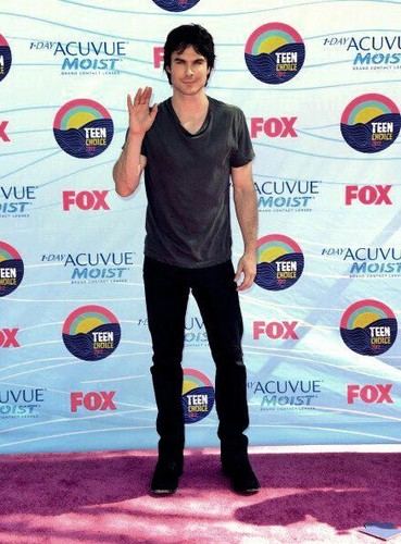 Teen choice award 2012 - ian-somerhalder Photo