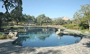 The Backyard Swimming Pool At Neverland Ranch