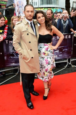 The Dark Knight Rises Londres Premiere 18.7.2012