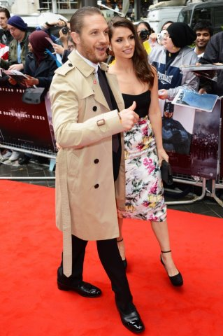 The Dark Knight Rises London Premiere 18.7.2012 - tom-hardy Photo