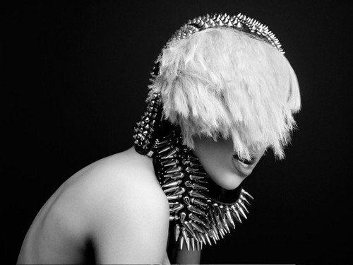 The Fame monster photoshoot outtake by Hedi Slimane