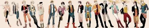 The Hipsters of Hetalia