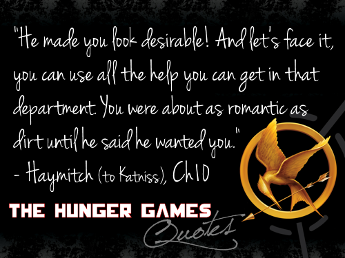 Hunger Games Katniss Quote