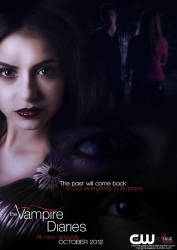 The Vampire Diaries season 4  the past will come back to put everything in its place - the-vampire-diaries Photo