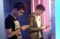 The Wanted Tom and Nathan :)