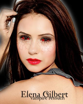 The vampire diaries elena vampire retouch