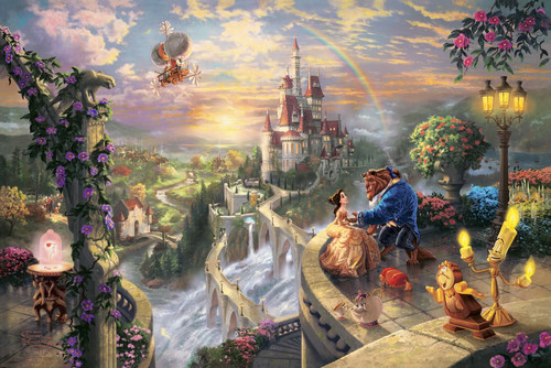 "Thomas Kinkade ""Disney Dreams"" - disney-princess Photo"