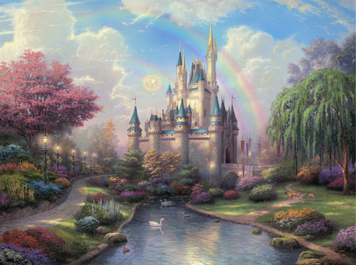 "Thomask Kinkade ""Disney Dreams"""