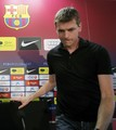 Tito Vilanova's first press conference as manager - fc-barcelona photo