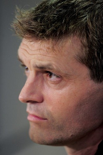 Tito Vilanova's first press conference as manager