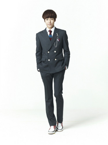 To The Beautiful You wallpaper containing a business suit, a suit, and a well dressed person called To The Beautiful You cast in uniform