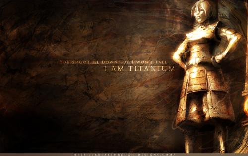 Toph is titanium Wallpaper