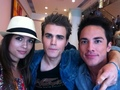 Torrey, Paul and Michael at Comic Con 2012