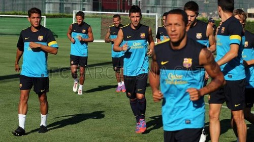 Training Session (July 19, 2012)