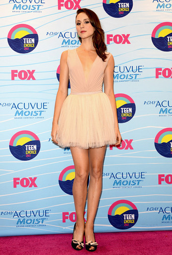 Troian at TCA 2012