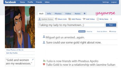 Tulio's 페이스북 프로필