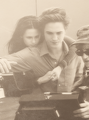 Twilight Set - robert-pattinson-and-kristen-stewart photo