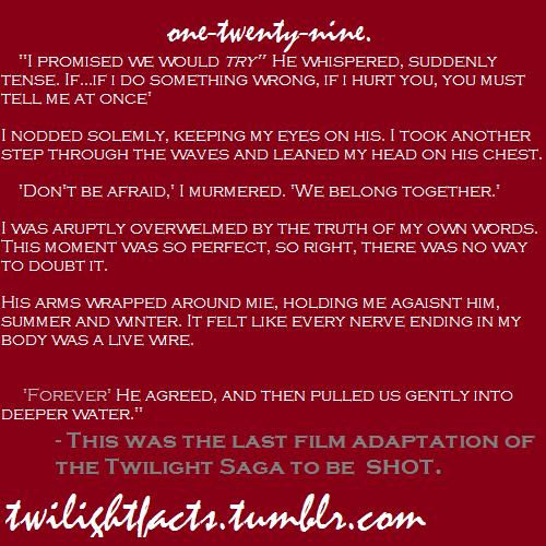 Twilight facts 121-140