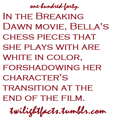 Twilight facts 121-140