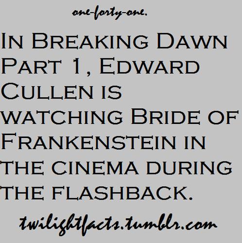 Twilight facts 141-160