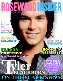 Tyler Blackburn Magazine Cover