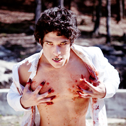 Tyler Posey wallpaper possibly containing a hunk and skin entitled Tyler Posey