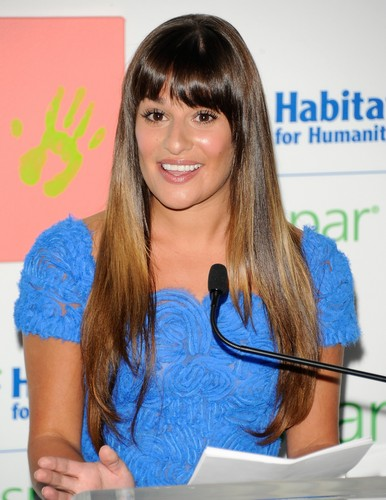 Valspar Hands For Habitat Unveiling Hosted Von Lea Michele - July 20, 2012