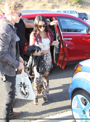 Vanessa - Arriving in Malibu for Ashley's 27th Birthday Party - July 02, 2012