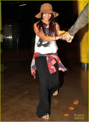 Vanessa - Headed into their local movie theater - July 20, 2012 - vanessa-hudgens Photo