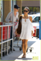 Vanessa - Shopping at Trader Joe's Market in Toluca Lake - July 16, 2012