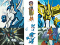 Veemon Digivolution - digimon wallpaper
