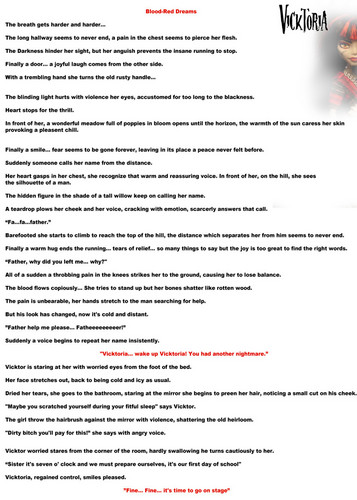 Vicktoria story